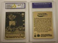 MUHAMMAD ALI 2009 Laser Line Gold Card * Limited Edition * Graded GEM MINT 10
