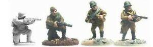 WW2007 SOVIET RIFLEMEN WITH SMGS (8) - WORLD WAR II - BLACK TREE DESIGN - K