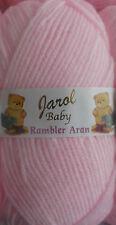 Pink Baby Rambler Aran by Jarol  5 x 100grms