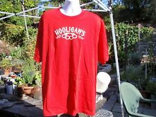hooligans brass knuckle large t shirt red