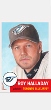 TOPPS BASEBALL LIVING SET CARD TORONTO BLUE JAYS ROY HALLADAY #267