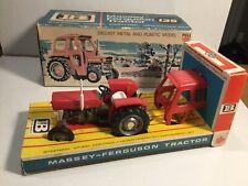 Britains Farm 9529 Massey Ferguson 135 Tractor In Its Original Box