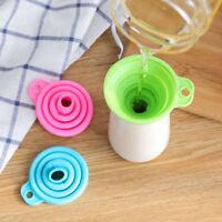Silikongel zusammenklappbar praktische klappbare Trichter Küchenhel PO