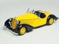 CMC Audi 225 Front Roadster (Black/Yellow) Limited Edition 1:18 Scale M-075A