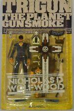 "Trigun The Planet Gunsmoke Nicholas D Wolfwood 8 "" Action Figure Kaiyodo"