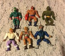 6 VTG MASTER OF THE UNIVERSE FIGURES PREOWNED