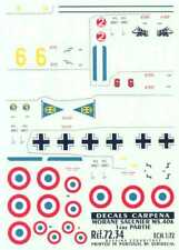 Colorado Decals 1/72 MORANE SAULNIER MS-406 French WWII Fighter Part 1