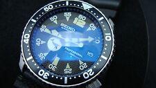 Vintage Seiko divers 7002 XX MEGA MOD BLACK WHALE BBB SAPPHIRE CRYSTAL H65.