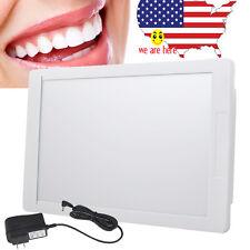Dental X-Ray Film Illuminator Light Box Negative Viewer light Panel Sealed LED +
