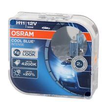 2x OSRAM Halogenlampe H11 COOL BLUE INTENSE CBI 12V 55W 64211CBI-HCB