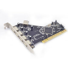 PCI to 4 Ports External + 1 Port Internal USB 2.0 Expansion Card Chipset for NEC