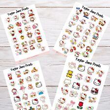 Hello Kitty Planner Stickers Various Calendar Diary Scrapbook Journal