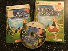 XBOX 360 RPG GAME ETERNAL SONATA + BOX &  INSTRUCTIONS / COMPLETE PAL