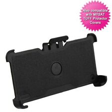 For Samsung Galaxy Phone BLACK Hard Hybrid Holster Case Cover Holder Belt Clip
