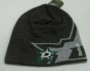 NHL Dallas Stars Knit Hat By Reebok - Adult One Size - New