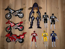 Power Rangers Vintage Complete Bandai Action Figure Lot Of 6 1993 1994