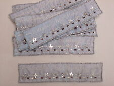 10 x Joyeux anniversaire bannière style Blue Star Arts Artisanat Carte making motif # 13e101