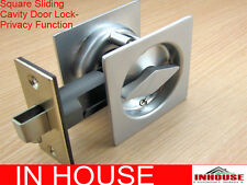 Cavity Sliding door Lock-diamond turn- privacy function-sq-SC