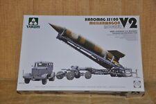 Takom WWII V2 Rocket Transporter / Erector with Hanomag SS100 Kit 5001