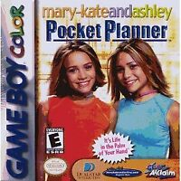 Mary-Kate & Ashley: Pocket Planner - Nintendo Game Boy Color GBC