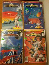 Star Blazers #1-4 (Comico/1987/Original Tv Series/1216619) Complete Set Of 4