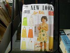 6195 NEW LOOK SEWING PATTERN SIMPLICITY DRESS HALTER SPAGHETTI STRAP NEW UNCUT