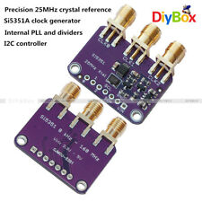 25MHZ Si5351A I2C Clock Generator Breakout Board 8KHz to 160MHz for Arduino