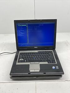 Lot Of 2 Dell Latitude D830 Core 2 Duo No HDD No OS 1 Good/1 For Parts Or Repair