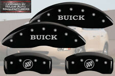 "2010-2016 ""Buick"" LaCrosse Front + Rear Black MGP Brake Disc Caliper Covers"