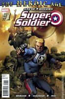 Steve Rogers Super-Soldier #1 (2010) Marvel Comics Captain America