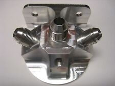 Legends Race Car, Andrews Motorsports, 3-Port Remote Filter Block 8AN Fittings