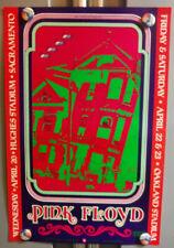 Pink FloYd Bgp22 BiLl Graham PreSents HugheS & OakLand Stadium 1988 PoSter