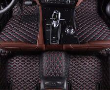 6 Colors Leather Floor Mats for BMW E66 - 7 series Li /750Li  -2002-2008 Carpets
