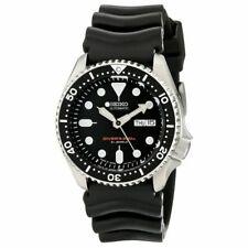 Seiko Prospex Men's Black Watch - SKX007J1