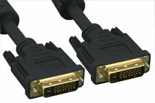 3-25ft DVI-D Digital Dual Link 24+1 Cable Connector 28AWG EMI LCD LED TV Monitor