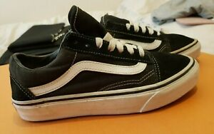 Vans Off The Wall, Womens Trainers, Color: Black/White, Size: UK-4,5, Used