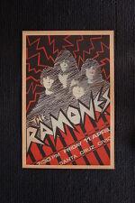 The Ramones 1980 tour poster Santa Cruz Civic Auditoriu