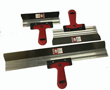 Taping knife 3pcs Stainless Steel Drywall/Filling Plastering Spatula Set GERMAN