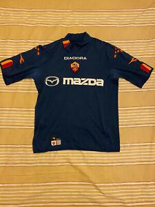 AS Roma Away Football Soccer Shirt Jersey 2003-04 Size M