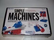 LEARNING RESOURCES SIMPLE MACHINES PULLEY LEVER WEDGE AGES 10+NEW SEALED SET
