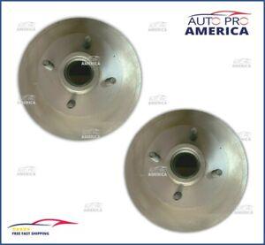 (2) NOS OEM FORD 1979-1992 MUSTANG FRONT Disc Brake Rotor & Hub Assy F1ZZ1102B