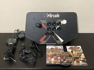 X-Arcade Tankstick Arcade Dual Joysticks, Playstation PSX & PSX2 Adapters!!