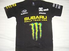 ***HOT ITEM** NWOT DC SHOES MIRRA MEN MONSTER SUBARU FORD T SHIRT SMALL