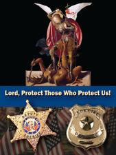 St. Michael Law Enforcement Prayer Card, 10-Pack