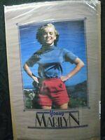 YOUNG MARILYN MONROE VINTAGE POSTER BAR GARAGE MAN CAVE HOT GIRL 1986 CNG1207