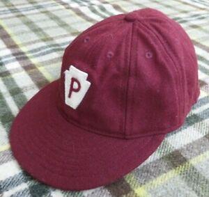 Ebbets Field Flannels Cap Hat GoalKeepers 7-/2 Hat Philadelphia