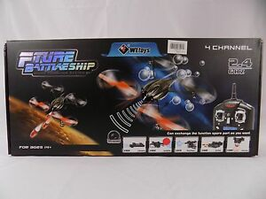 RC Helicopters/Quadcopter Fture Battleship W/Bubbles