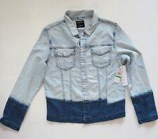 Calvin Klein Jean Jacket Size L  Large Denim Light Blue New/Tags