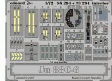 Eduard Zoom ss294 1/72 JUNKERS JU 88c-6 Hasegawa