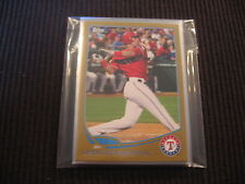 2013 TOPPS #2 TEXAS RANGERS GOLD PARTIAL TEAM SET LOT 8 CARDS LEONYS MARTIN